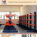 Almacenamiento de acero ajustables estantería Cantilever para el almacén con certificado CE