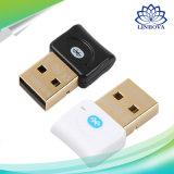 Adaptateur sans fil USB Bluetooth V4.0 Bluetooth Dongle Récepteur audio pour musique Bluetooth Sender pour ordinateur portable PC portable