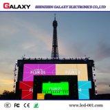 Placa de indicador Rental ao ar livre do diodo emissor de luz P4/P5/P6 da cor cheia para a mostra, estágio, conferência