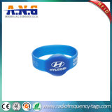 Wasserdichte Silikon-Armbänder des Oval-RFID mit ISO 14443A