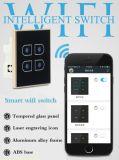 Interruttore astuto di tocco di telecomando del telefono del sistema di automazione domestica di Zigbee
