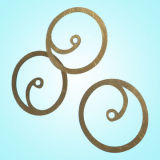 Dichtung, Ring, Flansch mit passen Zeichnung an