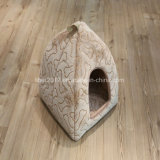 고양이 제품 공급 애완 동물 침대 Flannel 고양이 집