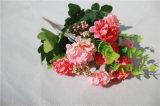 Silk искусственние цветки Hydrangea для Bridal букета