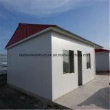 Vorfabrizierte Stahlschnelle bauen Flüchtlings-Haus zusammen