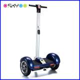 Scooter électrique de roue intelligente de l'équilibre deux 10 pouces avec le traitement