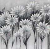 Handgemachtes Blumen-Segeltuch-Ölgemälde für Hauptdekoration