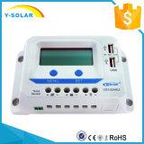 Epever 10A 20A 12V/24V 태양 에너지 또는 위원회 관제사 이중 USB/2.4A Vs1024au