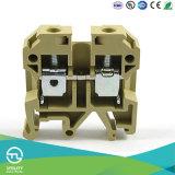 Электрическое оборудование Weidmuller 10мм2 размер провода стальной болт направляющей DIN, клеммные колодки