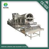 Tipo rápido industrial equipamento do vapor do congelador de processamento vegetal