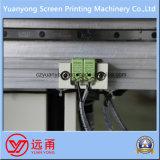 Maquinaria de impresión semiautomática de la pantalla para la botella plástica