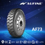 Aufine Raidal Tubeless Truck Tyre with DOWRY, Labeling