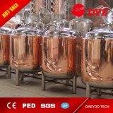 tanque brilhante da cerveja do fermento de cobre vermelho da cervejaria 5000L (CE aprovado)