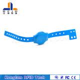 Wristband personalizzato del PVC della plastica RFID dell'ABS per la consegna espressa