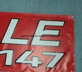 La impresión de encargo al aire libre que hace publicidad Bloquea-hacia fuera la bandera del PVC del vinilo (SS-VB90)