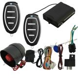 Système central d'alarme de voiture à verrouillage de porte avec capteur de choc