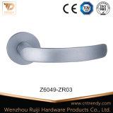 Punho de porta de Rosa do fechamento da trava da alavanca da liga do zinco (Z6043-ZR05)