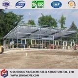 Costruzione commerciale ad intelaiatura d'acciaio professionale per la vendita al dettaglio
