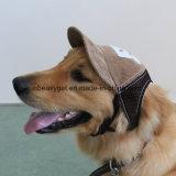 Chapeau réglable de chapeau de protection de Sun de sports en plein air de chapeau de base-ball de crabot pour le petit et moyen crabot Esg10175