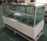 Faible consommation d'énergie facile d'utiliser le congélateur d'étalage de gâteau (R730V-S2)