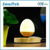 Smartek Birnen-Lautsprecher Maglev der Magnetschwebetechnik-drahtloser hölzerner Korn-Unterseiten-LED, das Bluetooth Lautsprecher schwimmt