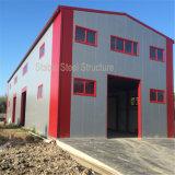 Proyectos de edificio de acero del taller de la construcción ligera del metal