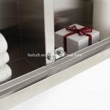 ほとんどの普及したステンレス鋼の家具の浴室ミラーのキャビネット(7062)