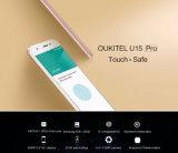 Oukitel U15のプロ4G携帯電話5.5のインチHD Mtk6753 Octaのコアアンドロイド6.0の3GB RAM 32GB ROMの指紋ID二重SIMのスマートな電話金