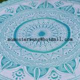 Impreso alrededor de la toalla de playa del círculo con alta calidad