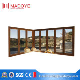 Portelli Bi-Pieganti resistenti insonorizzati di vetratura doppia per l'entrata del balcone
