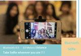 Bluetooth Shutter Remote LED Feu de téléphone Selfie pour iPhone Smartphone