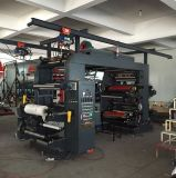 Prensa de papel de alta velocidad de Flexo del rodillo para la impresora del bolso de la impresora de Flexo del papel de Kraft