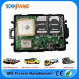Perseguidor duplo do GPS do veículo do sistema de cartão de SIM