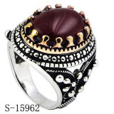 Men Ring New Models 925 Silver CZ Ring with Stone