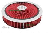 보편적인 공기 정화 장치에 있는 Xtra 교류 필터 검정 14in X3