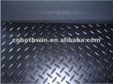 Het zwarte RubberBlad van de Diamant voor Zool 0.61.2mm van Schoenen