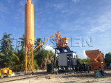 De Mini Concrete het Groeperen 25m3/H Apparatuur van uitstekende kwaliteit van de Bouw van de Installatie