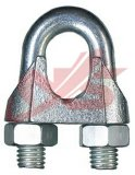 Acciaio inossidabile della clip della fune metallica di DIN741steel, ghisa malleabile
