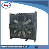 Radiateur Qsk60-G3-P-1 en aluminium pour le type d'échange thermique de radiateur avec le prix usine