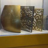 Лист декоративных панелей Perforated алюминиевый для украшения здания