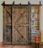 A partir da quinta porta corrediça com porta de madeira de carvalho e de Hardware