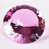 Cristal en gros de diamant pour la décoration de rendez-vous de mariage