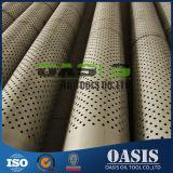 Pipe perforée d'enveloppe d'ASTM A312 AISI304L pour le perçage de puits d'eau