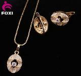 熱い販売の金によってめっきされる宝石用原石の宝石類セット