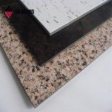 PE/ПВДФ легкий вес Lowes цена камня зерновых композитных панелей (AE-501)