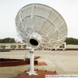 antenne de satellite de 3.7m Rx seulement (réflecteur duel)