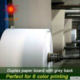 Placa duplex revestida branca para impressão offset (DP-009)