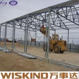 특별한 디자인 Q345b/Q235B 유형 프레임 강철 구조물 용접된 창고