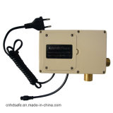 새로운 위생 상품 센서를 가진 갑판에 의하여 거치되는 크롬 온도 조절 장치 꼭지
