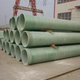 Pipe composée du traitement d'eaux d'égout FRP dans la ville